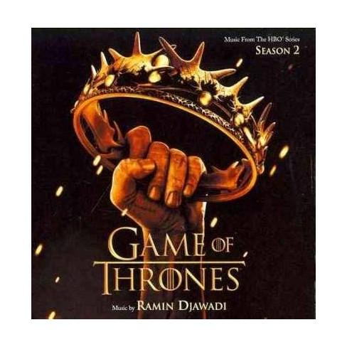 Djawadi, Ramin (Composer) - Game Of Thrones: Music From The HBO Series Season 2 (OSC) (CD) - image 1 of 1