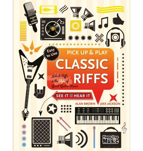 Classic Riffs : Licks & Riffs in the Style of Great Guitar Heroes (New) (Paperback) (Jake Jackson) - image 1 of 1