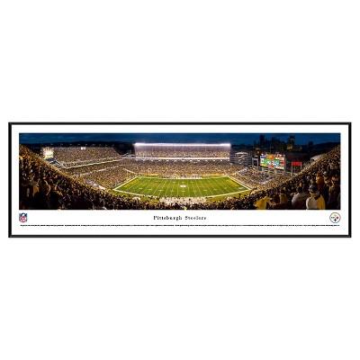 NFL Blakeway Stadium View Standard Framed Wall Art - Pittsburgh Steelers