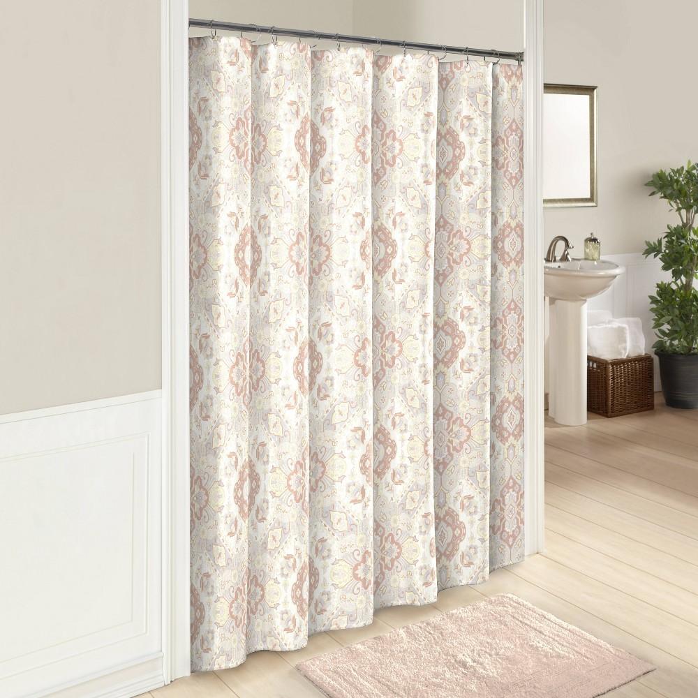 Image of Ahana Shower Curtain Cream - Marble Hill