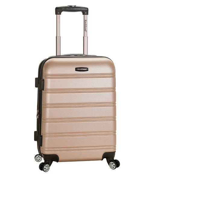"""Rockland Melbourne 20"""" Expandable ABS Suitcase - image 1 of 1"""