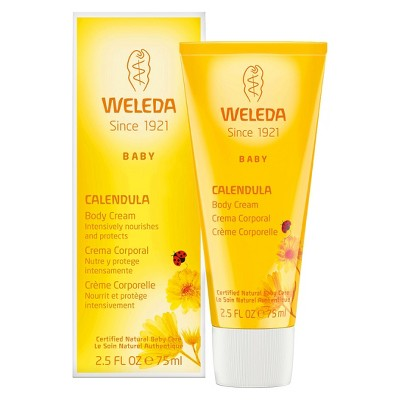 weleda baby body lotion