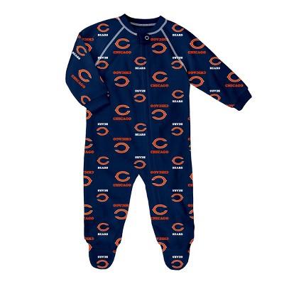 NFL Chicago Bears Baby Boys' Blanket Sleeper - 6-9M