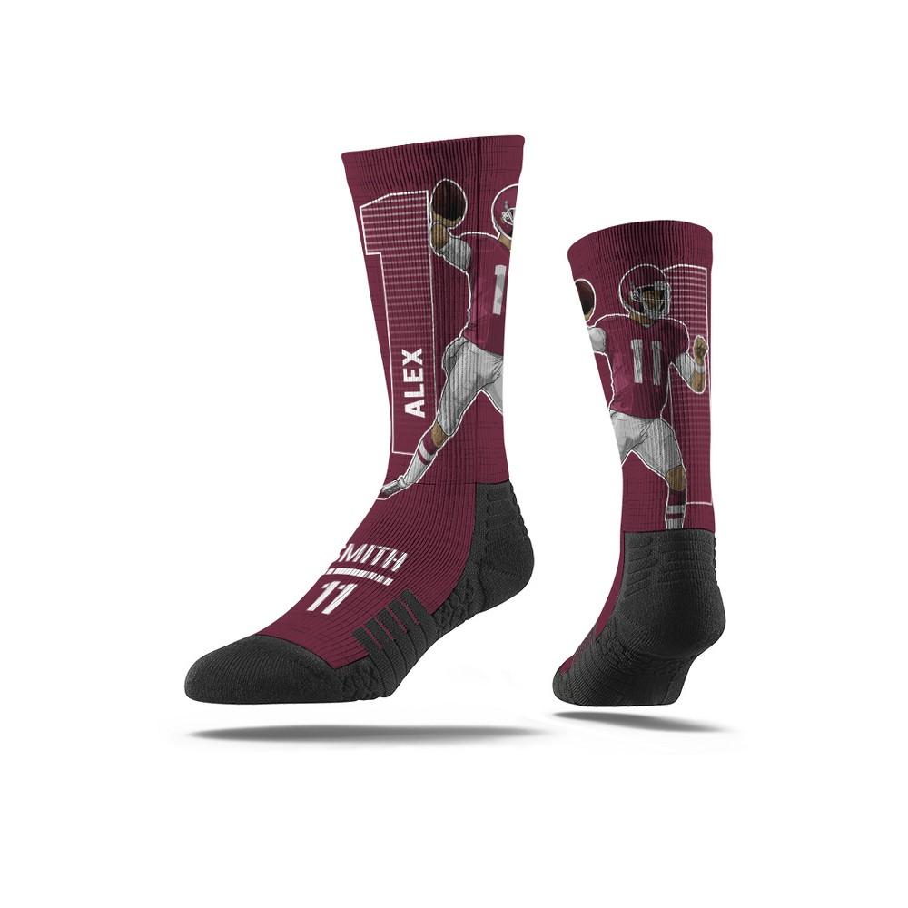 NFL Washington Redskins Alex Smith Premium Player Socks - M/L, Men's