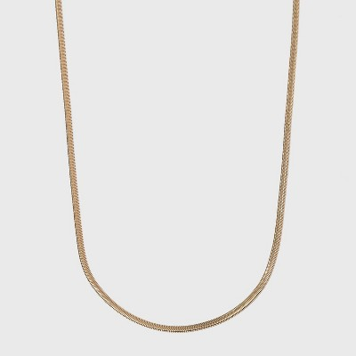 Snake Chain Necklace - A New Day™ Gold