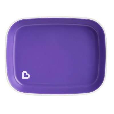 Munchkin Splash Flat Plate - Purple