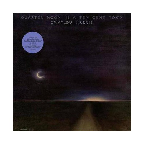 Emmylou Harris - Quarter Moon in a Ten Cent Town (Vinyl) - image 1 of 1