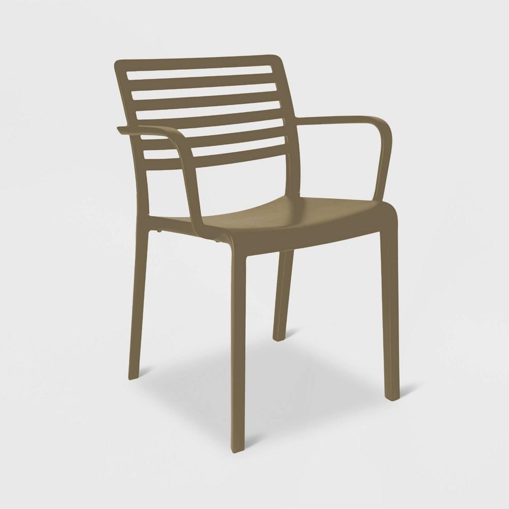 Image of Lama 2pk Patio Armchair - Warm Gray - RESOL