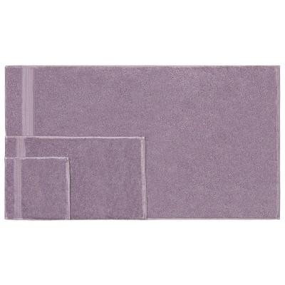 Solid Cotton Plush Assorted 6-Piece Towel Set - Blue Nile Mills