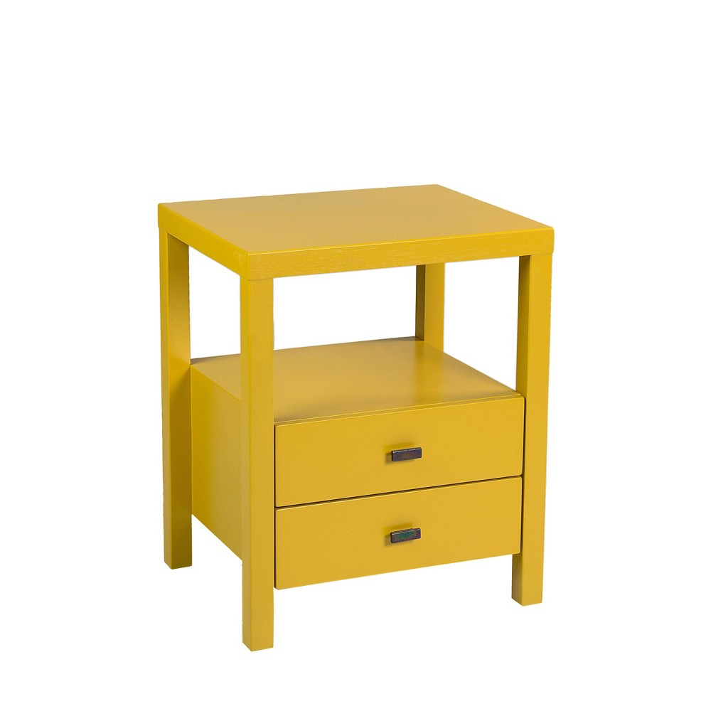 Westerly Acacia Accent Table Yellow East At Main