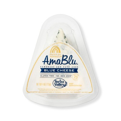 Amablu Blue Cheese Wedge - 4oz