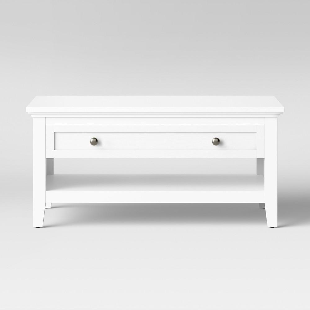 Carson Coffee Table White - Threshold