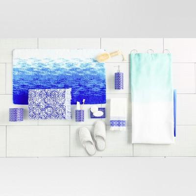 Pops Of Blue Bathroom Accessories