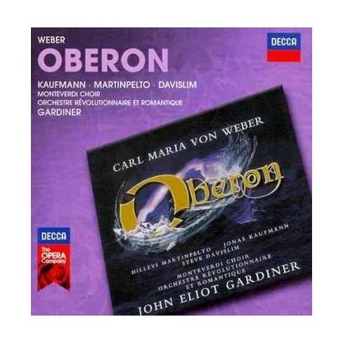 John Eliot Gardiner - Weber: Oberon (CD) - image 1 of 1