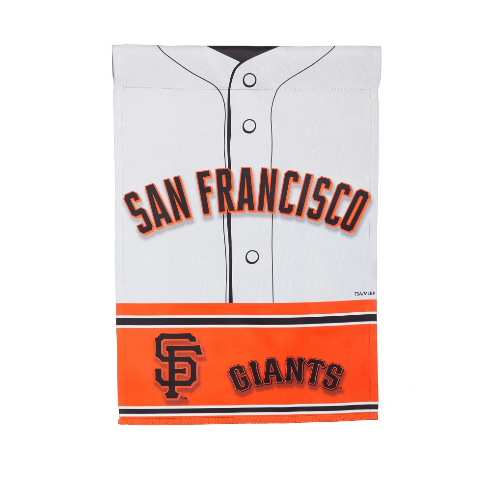 San Francisco Giants Two-Sided Jersey Garden Flag