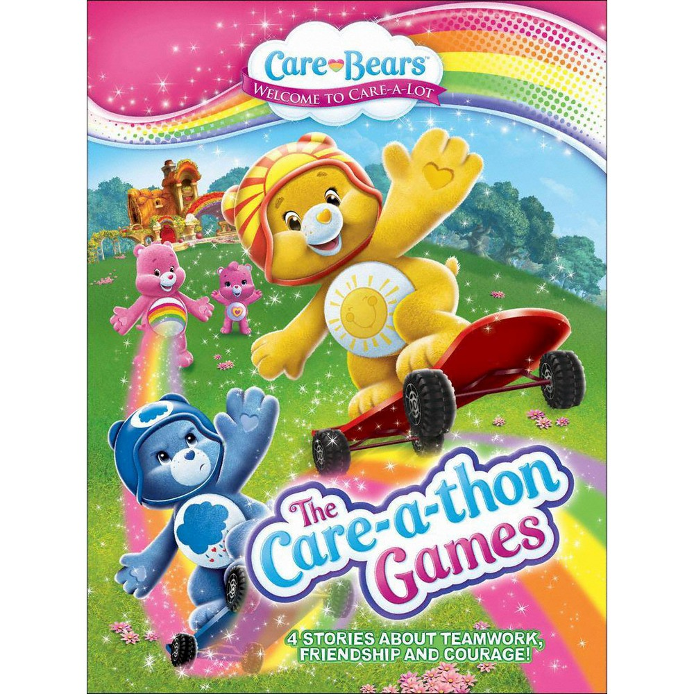 Care Bears The Care A Thon Games Dvd