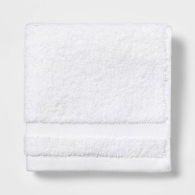 Solid Washcloth White - Made By Design™