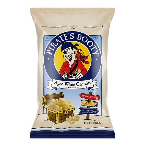 Pirate's Booty Aged White Cheddar Puffs - 10oz - image 1 of 3