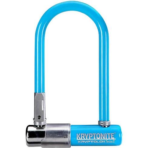 """Kryptonite Krypto Series 2 Mini-7 U-Lock 3.25 x 7"""" Blue - image 1 of 1"""