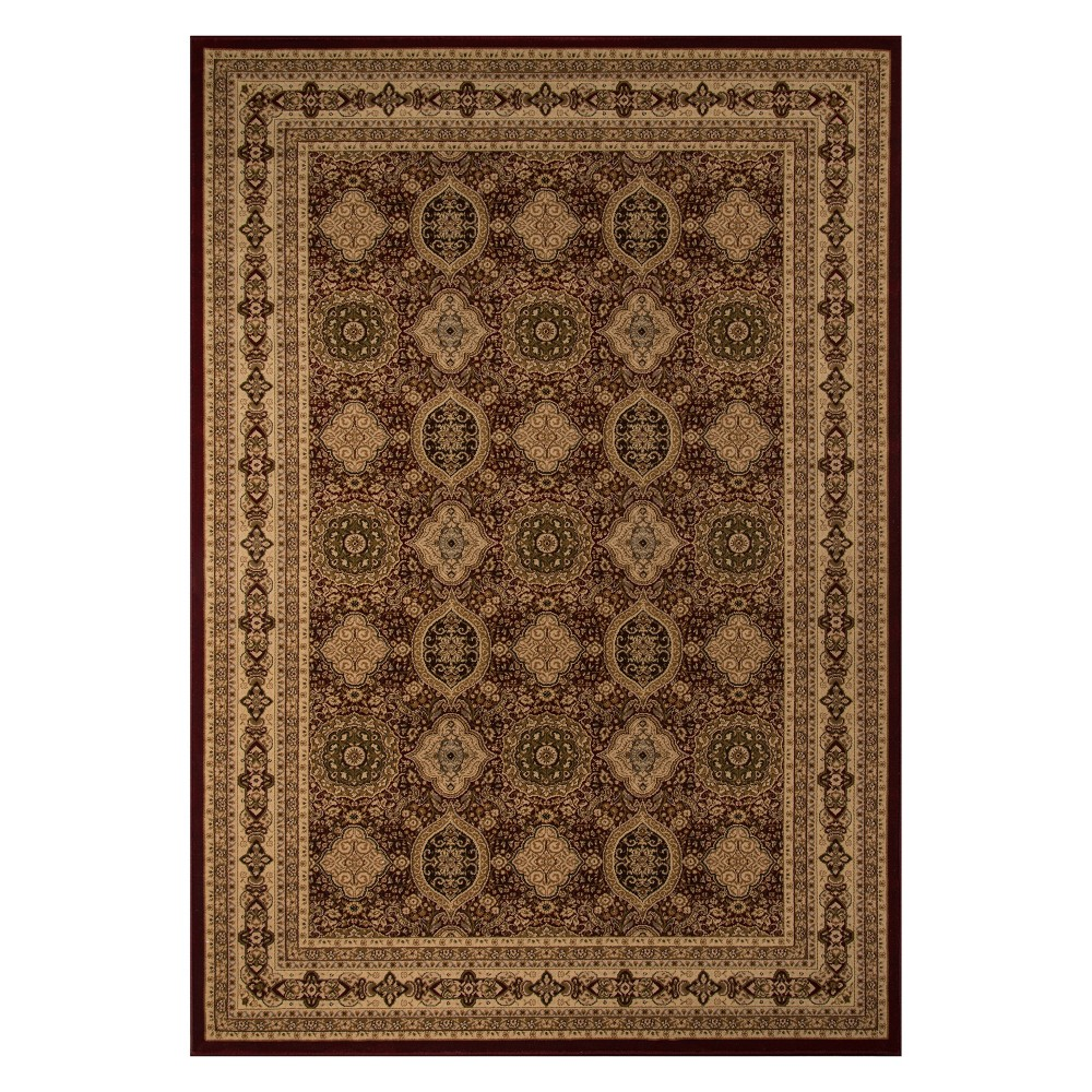 11'3X15' Holly Loomed Area Rug Red - Momeni