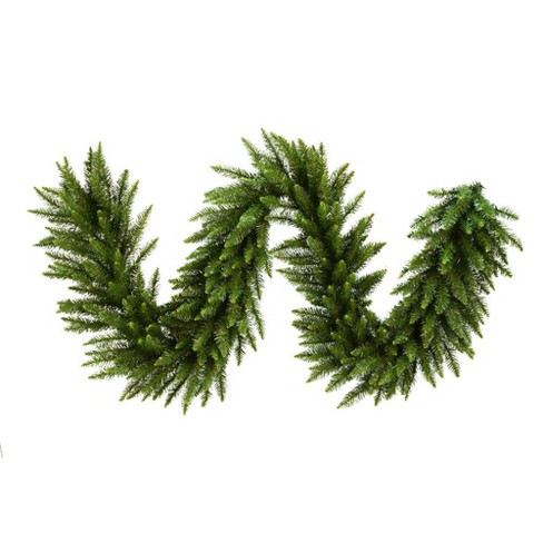 about this item - Green Christmas Garland