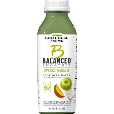 Bolthouse Farms B Balanced Sweet Greens Smoothie - 15.2oz