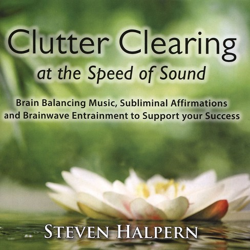 Steven halpern - Clutter clearing at the speed of soun (CD) - image 1 of 1