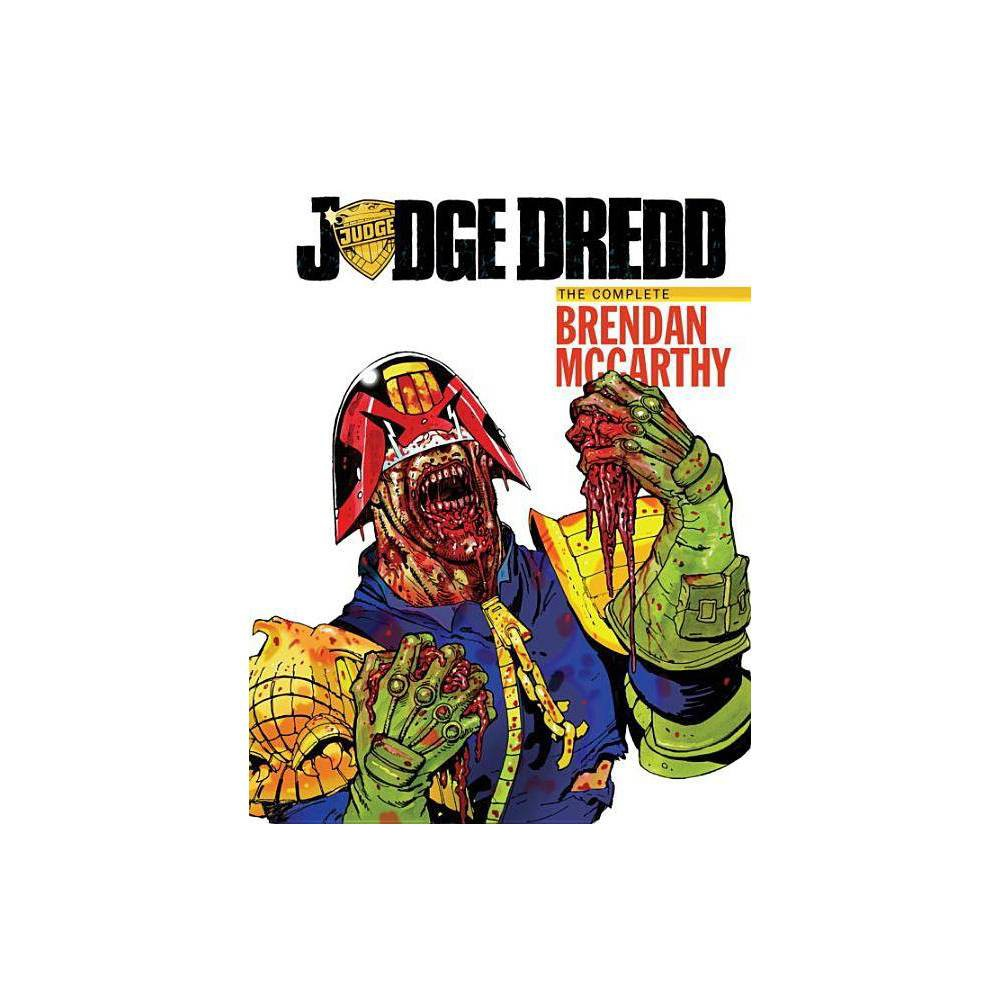 Judge Dredd: The Brendan McCarthy Collection - by Al Ewing (Hardcover) John Wagner is, to many fans, the very heart of 2000 AD. Involved from the earliest days of the Galaxy's Greatest Comic; he co-created Judge Dredd, as well as Strontium Dog, Robo-Hunter and a host of other 2000 AD mainstays, including the critically acclaimed Button Man. Incredibly prolific throughout his career, and writing under a diversity of pen names-often in concert with Alan Grant, with whom he devised and developed 2000 AD's sister comic, Judge Dredd: The Megazine-Wagner has worked extensively beyond the Thargian universe, originating and editing a number of British periodicals as well as writing many American standards, including Batman, Lobo, The Punisher and Star Wars bounty hunter Boba Fett. His Paradox Press graphic novel A History OF Violence (illustrated by Vince Locke) was adapted into a critically acclaimed film by director David Cronenberg in 2005.