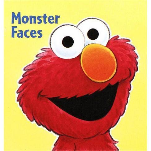Monster Faces (Sesame Street) - (Chunky Shape Books) (Board_book) - image 1 of 1