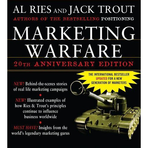 Marketing Warfare: 20th Anniversary Edition - 2 Edition by  Al Ries & Jack Trout (Hardcover) - image 1 of 1