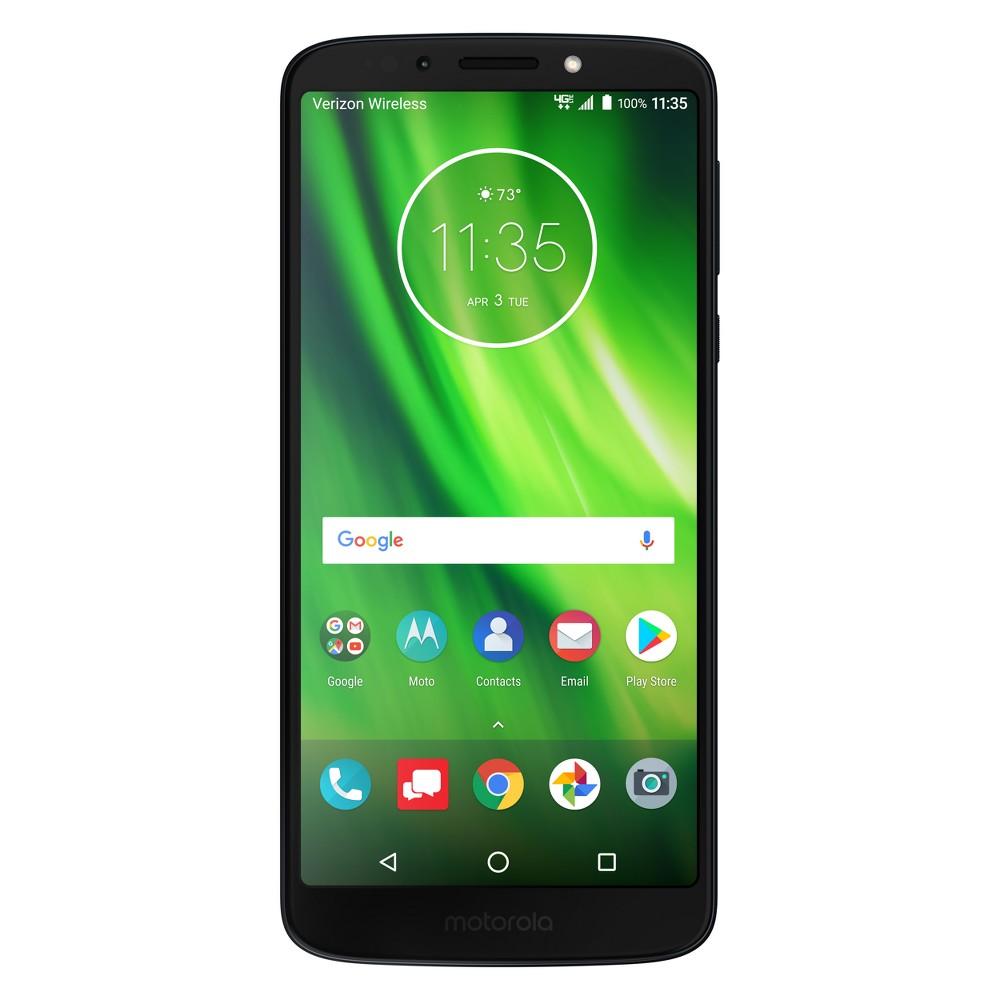 Motorola Verizon Prepaid Moto G6 Play (16 GB) - Indigo Blue