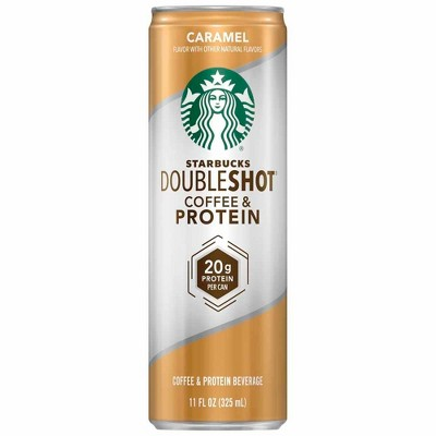 Coffee Drinks: Starbucks Doubleshot Coffee & Protein