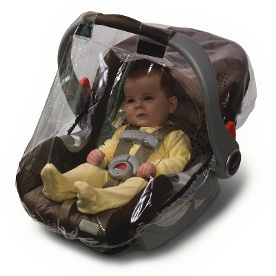 Jolly Jumper Weathershield for Infant Car Seat, Universal Rain Shield and Wind Cover