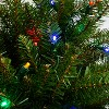 Northlight 4' Prelit Artificial Christmas Tree Northern Pine Full - Multicolor LED Lights - image 2 of 2