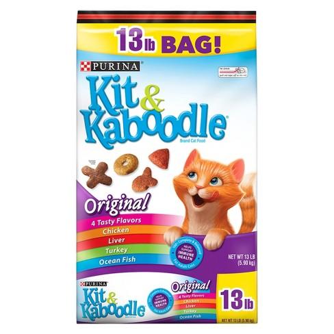 Purina® Kit & Kaboodle Original Dry Cat Food - image 1 of 4