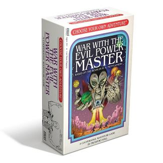 Z-Man Games Choose Your Own Adventure Board Game - War With The Evil Power Master