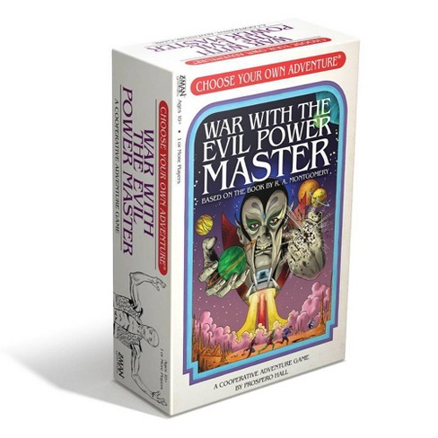Z-Man Games Choose Your Own Adventure- War With The Evil Power Master - image 1 of 6