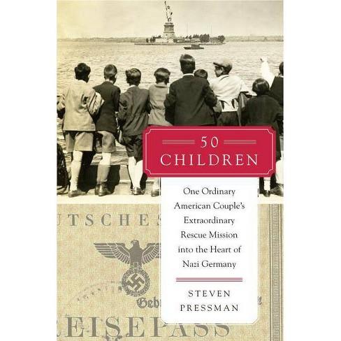50 Children - by  Steven Pressman (Hardcover) - image 1 of 1