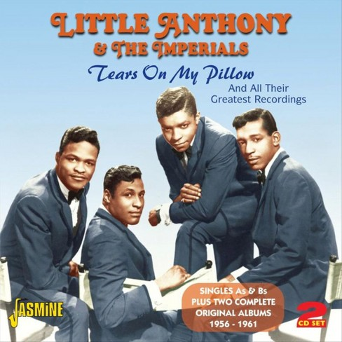 Little anthony & the - Tears on my pillow (CD) - image 1 of 1