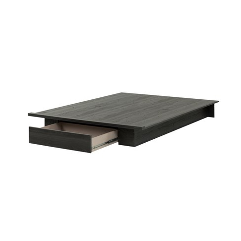 Holland Platform Bed With Drawer - South Shore - image 1 of 4