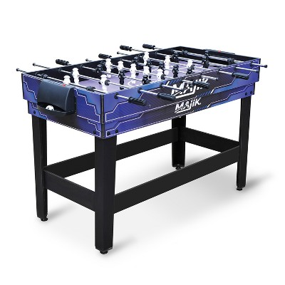 Eastpoint Sports Majik 54 In 4 in 1 Multi Game Combination Table Set w/ Billiards, Hockey, Table Tennis, & Foosball Gaming System for Indoor Game Play