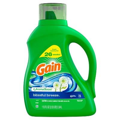 Gain Blissful Breeze Laundry Detergents - 120 fl oz