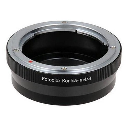 Fotodiox Lens Mount Adapter for Konica Auto-Reflex (AR) SLR Lens to Micro Four Thirds (MFT, M4/3) Mount Mirrorless Camera Body - image 1 of 4