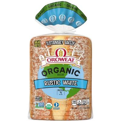 Oroweat Organic Rustic White Bread - 27oz