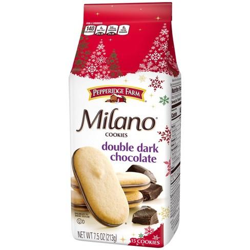 Pepperidge Farm Milano Double Dark Chocolate Cookies - 7.5oz - image 1 of 4
