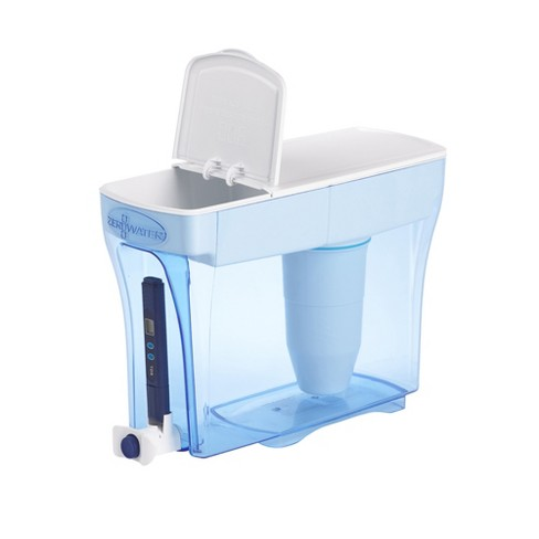 Zerowater 30 Cup Ready Pour Water Filtering Dispenser With Free