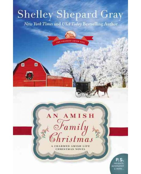 Amish Family Christmas (Paperback) (Shelley Shepard Gray) - image 1 of 1