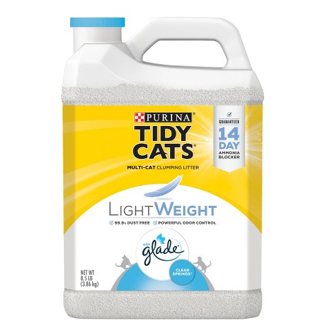 Purina Tidy Cats Lightweight Clumping Cat Litter with Glade Tough Odor Solutions - image 1 of 4