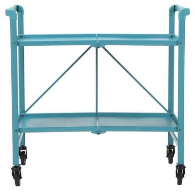Cosco Indoor - Outdoor Folding Serving Cart - Teal