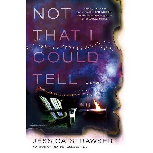 Not That I Could Tell - by  Jessica Strawser (Hardcover) - image 1 of 1